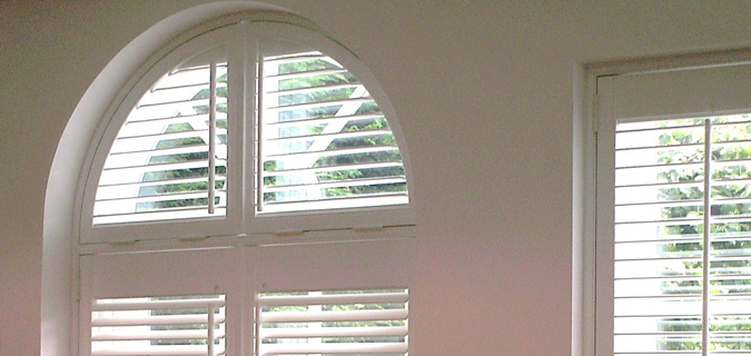 Arched Doorway Shutters